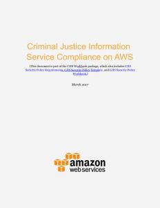 CJIS White Paper